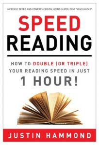 Book Speed Reading from Justin Hammon