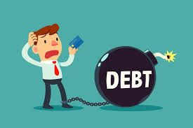 Entrepreneur in debt