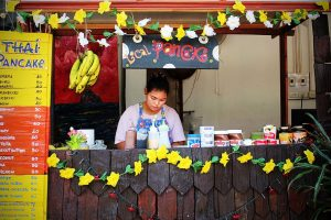 Small food stand